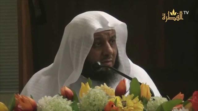 محاضرة الأسباب الموصلة لرضى اللَّه والمبعدة عن سخطه الشيخ صالح الغامدي
